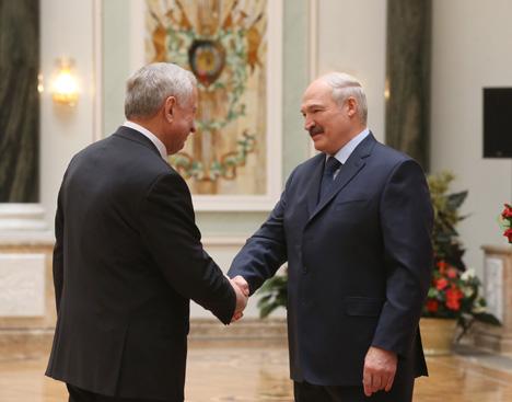 Орденом награжден ректор Гродненского государственного аграрного университета Витольд Пестис