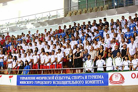 Церемония открытия юниорского чемпионата мира по гребле на байдарках и каноэ-2016