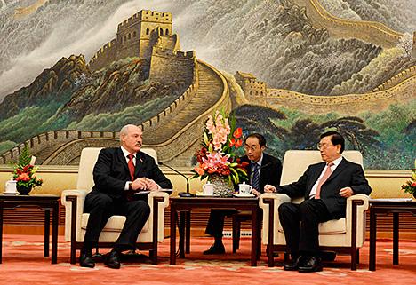 Лукашенко: Китай может рассчитывать на Беларусь в продвижении своих интересов в Европе