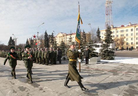 Минск принял международную эстафету в честь 70-летия Победы