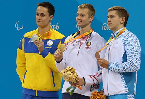 Белорус Игорь Бокий стал трехкратным паралимпийским чемпионом в Рио