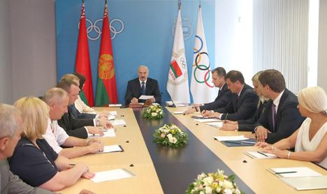 Лукашенко: В чистом спорте у Беларуси больше шансов на медали