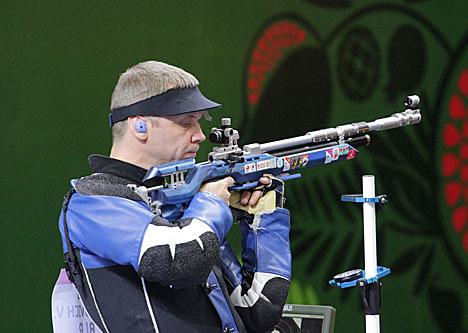 Белорус Виталий Бубнович завоевал золото Евроигр в стрельбе из пневматической винтовки