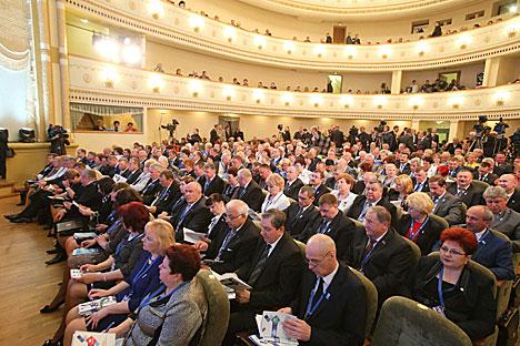 VII съезд Федерации профсоюзов Беларуси