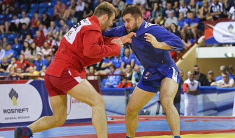 Белорус Юрий Рыбак завоевал титул чемпиона Европы по самбо
