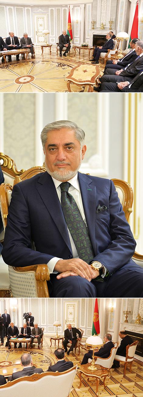 Встреча с главой исполнительной власти Афганистана Абдуллой Абдуллой