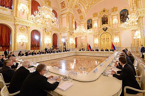 Заседание Высшего госсовета Союзного государства в Москве