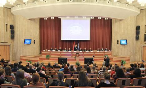 Первый Евразийский форум молодых ученых открылся в Минске