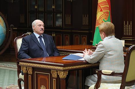 Рабочая встреча с председателем Центризбиркома Лидией Ермошиной