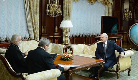 Лукашенко обсудил с Митрополитом Павлом вопросы взаимодействия государства и церкви