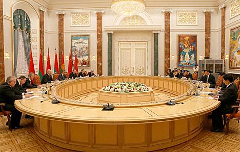 Встреча Александра Лукашенко с Председателем Китайской Народной Республики Си Цзиньпином