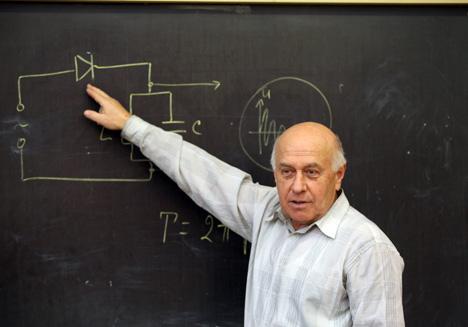 Народный учитель Беларуси Валерий Барашков
