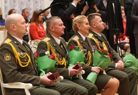 Лукашенко: Государство высоко ценит кропотливый труд и достижения в любой сфере деятельности