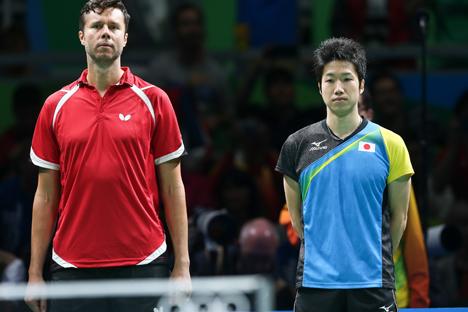 Белорус Владимир Самсонов уступил в матче за бронзу и занял четвертое место на летних Играх в Рио