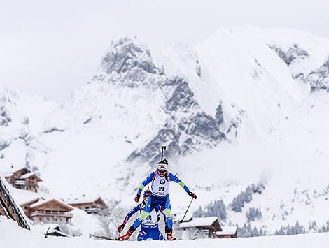 Ирина Кривко заняла второе место в масс-старте на этапе КМ по биатлону во Франции