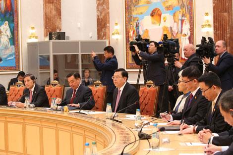 Лукашенко: Активные контакты между Беларусью и Китаем подчеркивают особый уровень отношений между странами