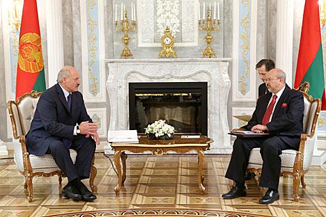 Лукашенко: Беларусь и ОБСЕ сотрудничают в реализации жизненно важных для Европы проектов