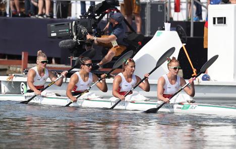 Белорусский экипаж завоевал бронзу Олимпиады в финальном заезде байдарок-четверок