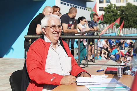 Знаменитый спортивный комментатор Владимир Новицкий