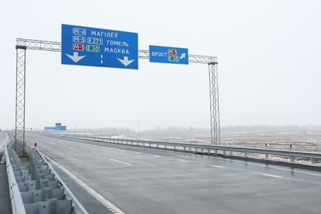 Открылось движение по завершенной второй Минской кольцевой автодороге
