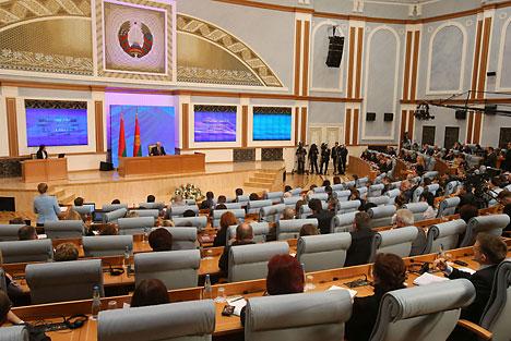 Открытый диалог Президента Республики Беларусь Александра Лукашенко с представителями белорусских и зарубежных СМИ