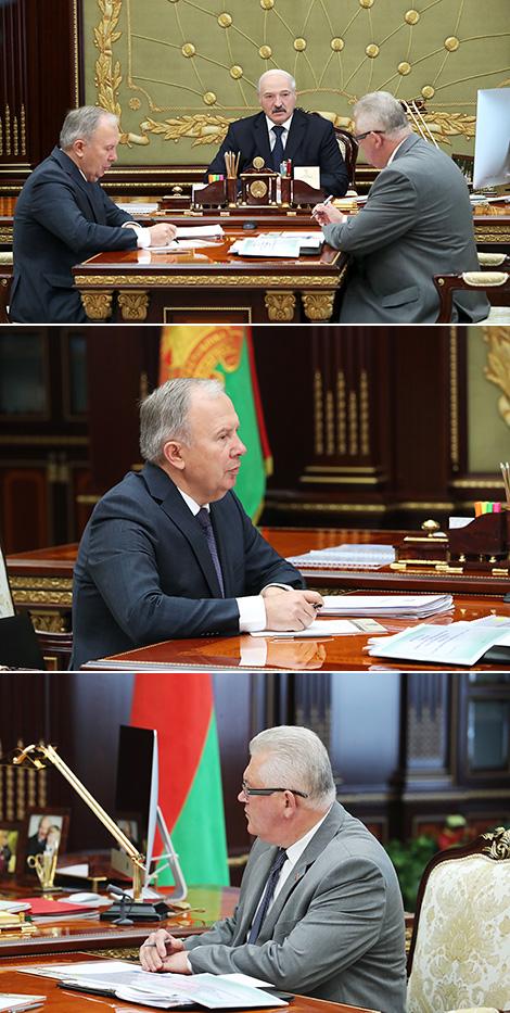 Встреча с вице-премьером Василием Жарко и министром образования Игорем Карпенко