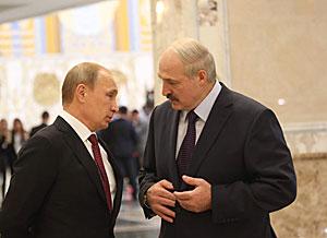 Лукашенко и Путин выразили заинтересованность в скорейшем прекращении вооруженного противостояния на востоке Украины