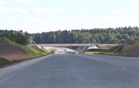 Открылся участок второй кольцевой автодороги вокруг Минска