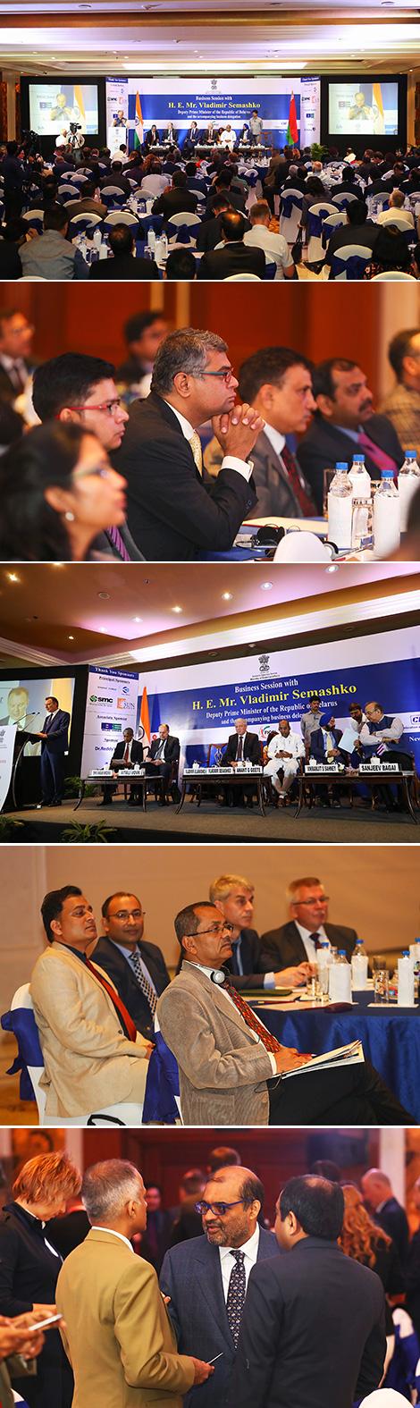 Белорусско-индийский бизнес-форум в Нью-Дели