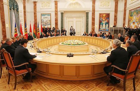 Переговоры в расширенном составе