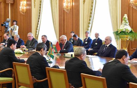 Беларусь и Туркменистан подтверждают готовность углублять отношения по различным направлениям