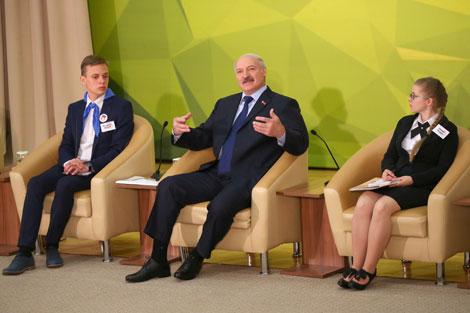 Лукашенко молодежи: Вы надежда и богатство страны