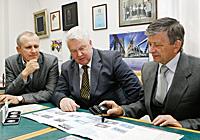 Леонид Танин, Пётр Моисеенко и Николай Макаревич