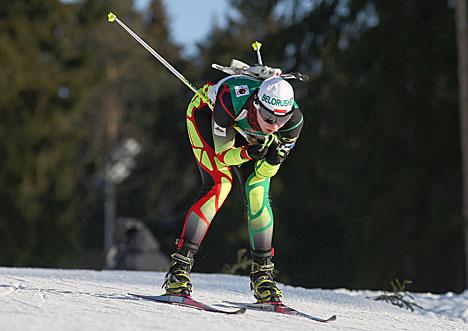 Белоруска Дарья Блашко победила в спринтерской гонке девушек на 6 км