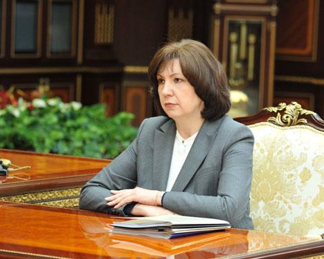 Планы по дальнейшей оптимизации в госаппарате обсуждены на встрече Лукашенко с Кочановой