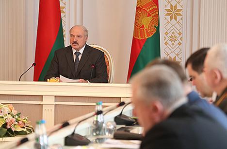 Лукашенко: Важно продолжить линию на полную нормализацию отношений Беларуси с ЕС