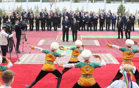 Комплекс зданий посольства Беларуси в Туркменистане торжественно открыли в Ашхабаде