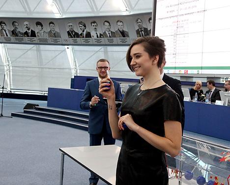 Состоялась жеребьевка минского чемпионата Европы по художественной гимнастике