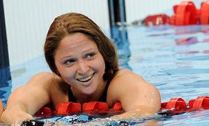 Лидер женской сборной Беларуси по плаванию Александра Герасименя