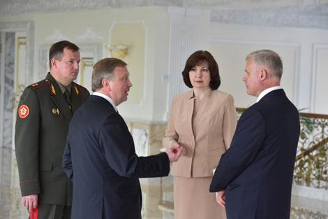 Новая концепция проведения парада в День Независимости обсуждена на встрече у Лукашенко