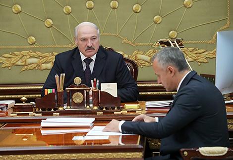 Встреча с первым вице-премьером Василием Матюшевским
