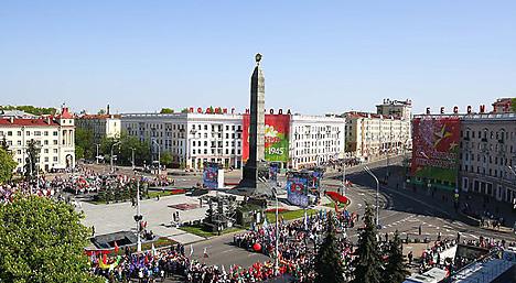 День Победы празднуют в Беларуси