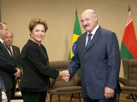 Президенты Беларуси и Бразилии договорились о создании смешанной межправительственной комиссии