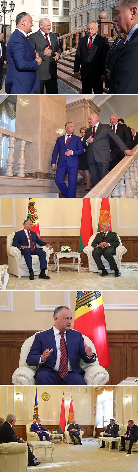 Лукашенко: Беларусь готова в любой момент сделать для Молдовы все, что в ее силах
