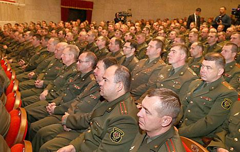 Лукашенко: Надежное обеспечение национальной безопасности по-прежнему является одним из основных условий благополучия любого государства