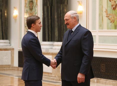 Золотой призер летних Олимпийских игр Владислав Гончаров награжден орденом Отечества III степени