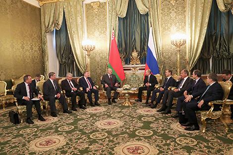 Лукашенко: Решения ВГС поспособствуют дальнейшему развитию интеграции Беларуси и России