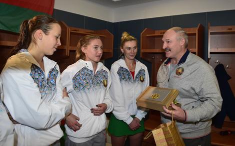 Белоруски обыграли теннисисток Нидерландов со счетом 4:1 в четвертьфинале Кубка Федерации