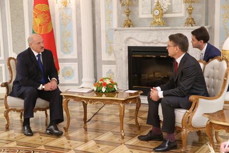 Лукашенко считает, что надо повышать роль и расширять направления сотрудничества ЕЭК ООН