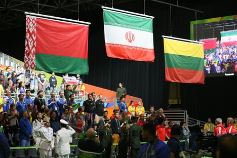 Белорусский тяжелоатлет Вадим Стрельцов стал серебряным призером Олимпиады